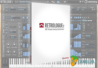 Steinberg - Retrologue 2 VSTi, AU WIN.OSX x86 x64 [2013]
