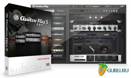 Native Instruments - Guitar Rig Pro 5.2.0 STANDALONE.VST.RTAS.AAX [x86 x64] 2013 PC