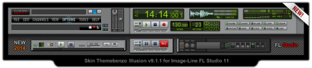 Skin FL Studio 11 Themebenzo Illusion 9.1.1 [19.01.2014, ENG]