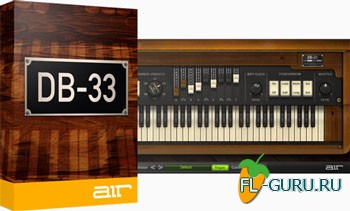 AIR Music Tech DB-33 VST 1.2.7 x86/x64
