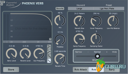 EXPONENTIAL AUDIO - PHOENIXVERB STEREO 4.2.3 x86 x64 [01.01.2016]