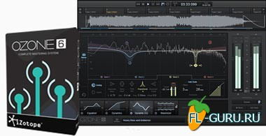 iZotope Ozone 6 Advanced VST.VST3.RTAS.AAX v6.00 x86/x64