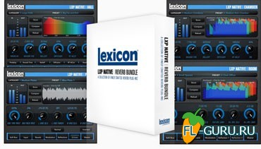 Lexicon LXP Native Reverb VST.AAX v.1.1.2 x86/x64