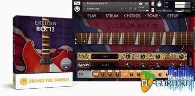 Orange Tree Samples Evolution Rick 12 - библиотека семплов(Kontakt)
