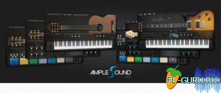 Ample Sound Ample Guitar Series VSTi.VSTi3.RTAS.AAX 2.4.0 x86/x64 UPDATE