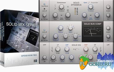 Native Instruments Solid Mix Series FX VST.AAX v1.3.1 x86/x64