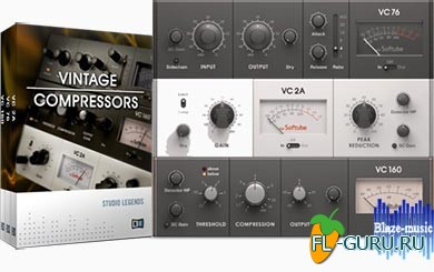 Native Instruments Vintage Compressors FX VST.AAX v1.3.1 x86/x64