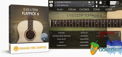 Orange Tree Samples Evolution Flatpick 6 - библиотека семплов(Kontakt)
