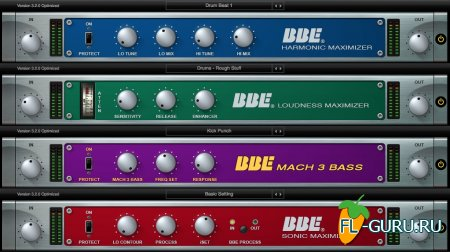 BBE Sound - All Plugins Bundle 20r3