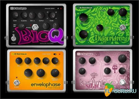G-Sonique - EFX Pedal Plugin Bundle