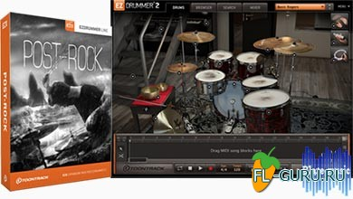 Toontrack EZX2 Post-Rock v1.0.0 HYBRID Win/OSX