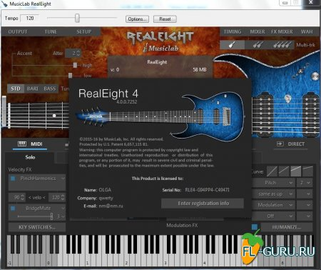 MusicLab - RealEight 4.0.0.7252