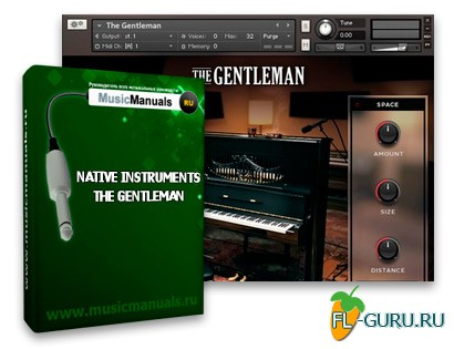 Native Instruments THE GENTLEMAN (русский мануал)