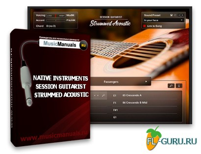Native Instruments Session Guitarist - Strummed Acoustic (русский мануал)