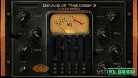 Auddict - Drums of the Deep II UNLEASHED (KONTAKT) - сэмплы перкуссии kontakt