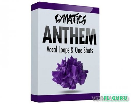 Cymatics - Anthem Vocal Loops & One Shots (WAV) - вокальные сэмплы
