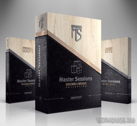 Heavyocity - Master Sessions Ensemble Woods Collection (KONTAKT) - сэмплы ударных kontakt