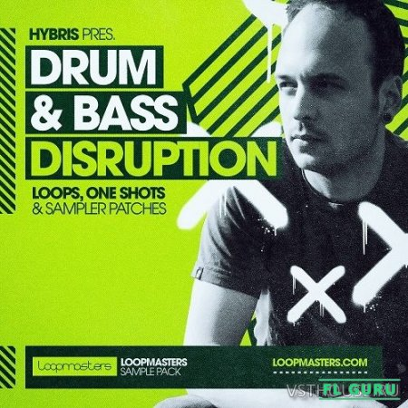 Loopmasters - Hybris - Drum & Bass Disruption (REX2, WAV) - сэмплы drum and bass