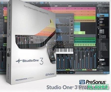 Presonus - Studio One Professional 3.3.4.41933 Win.Mac x86 x64 [2016, Eng + Rus] - секвенсор