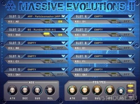 YummyBeats - Massive Evolutions II Bundle (KONTAKT) - сэмплы синтезатора kontakt