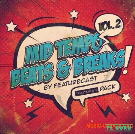 Featurecast Mid Tempo Beats and Breaks 2 (MULTiFORMAT) - сэмплы Breaks, Hip-Hop, Funk, D&B