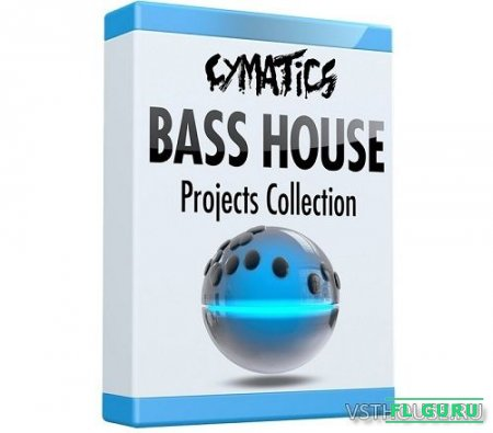 Cymatics - Bass House Ableton Projects Collection Pt.1-4 (ABLETON PROJECTS) - сборник проектов Ableton Live