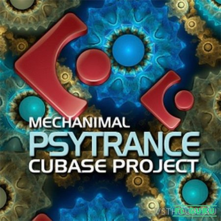 Dance Midi Samples - DMS Mechanimal Cubase Psytrance Project 1 (CUBASE TEMLATE) - проект Cubase