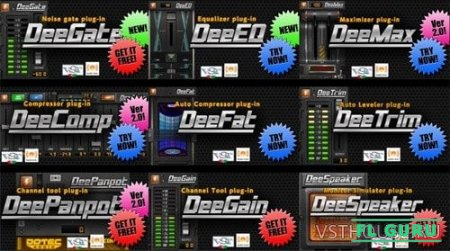 Dotec-Audio - Plugins Bundle 2017.05 VST x86 x64 - набор плагинов