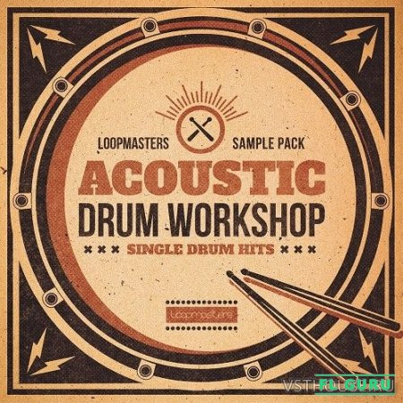 Loopmasters - Acoustic Drum Workshop (WAV) - сэмплы ударных
