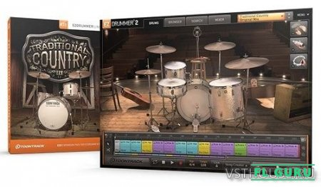 Toontrack - Trad Country EZX (Win, MacOS) - сэмплы EZDrummer