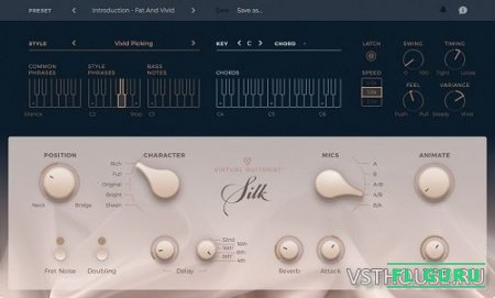 UJAM - Virtual Guitarist SILK 1.0.0. 501 VSTi, AAX x86 x64 - гитара