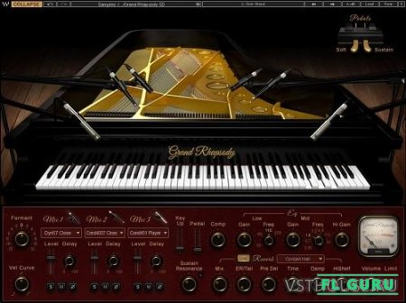 Waves - Fazioli F228 Grand Piano Library (SOUNDBANK) - сэмплы Waves