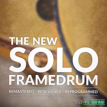 8DiO - The New Solo Frame Drum (KONTAKT) - сэмплы тамбурина kontakt