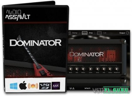 Audio Assault - Dominator 1.01 VST, VST3, RTAS, AAX, AU WIN.OSX x86 x64 - гитарный усилитель