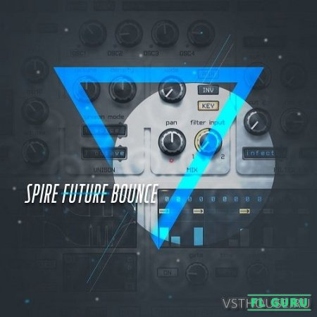 Diginoiz - Spire Future Bounce (SYNTH PRESET) - пресеты для Spire