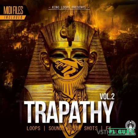 King Loops - Trapathy Vol.2 (WAV, MIDI) - сэмплы trap
