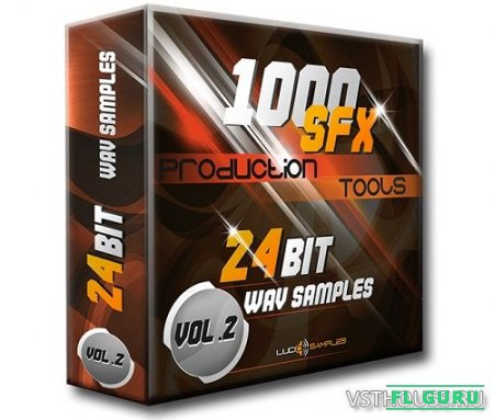 Lucid Samples - 1000 SFX Production Tools Vol.2 (WAV) - звуковые эффекты