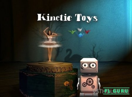Native Instruments - Kinetic Toys (KONTAKT) - звуки детских игрушек kontakt