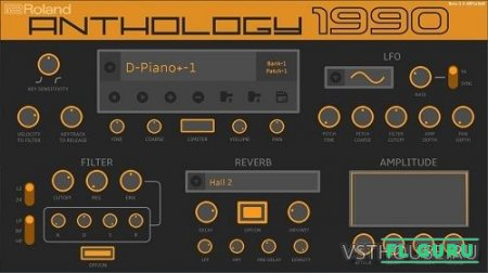 Roland - VS Anthology 1990 for Concerto v3.2.0 (Concerto) - сэмплы Concerto