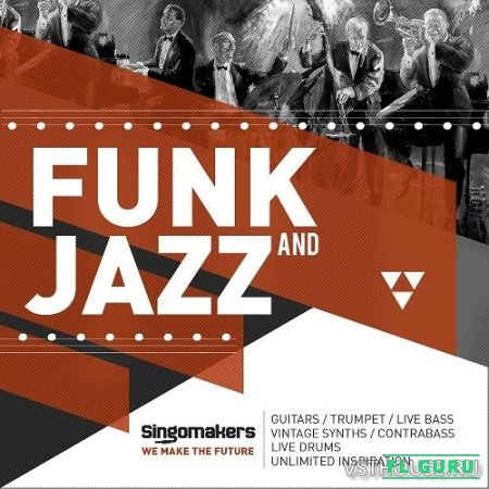 Singomakers - Funk & Jazz (WAV) - сэмплы jazz