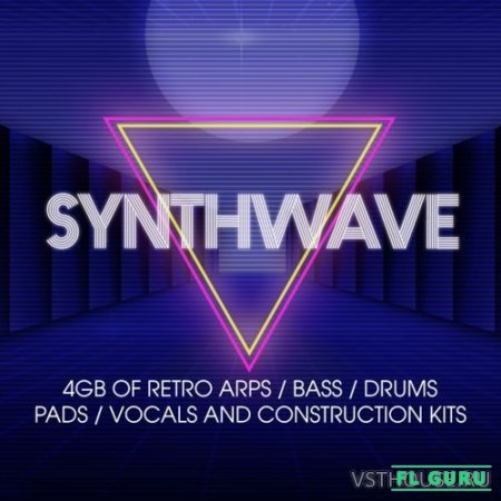 Sonic Academy - Synthwave Sample Pack (AIF, MIDI, WAV) - сэмплы синтезатора