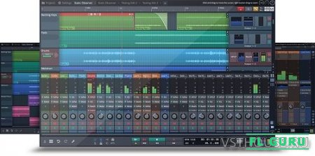 Tracktion Software - Waveform 8 8.1.2 x86 x64 [05.2017, ENG] - секвенсор
