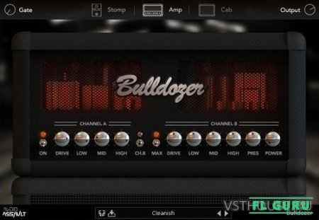 Audio Assault - Bulldozer 1.02 VST, VST3, RTAS, AAX, AU WIN.OSX x86 x64 - гитарный усилитель