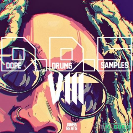 Dinma - Dope Drums Samples VIII (WAV,AiFF) - сэмплы ударных