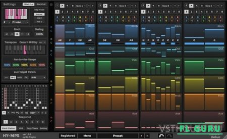 HY-Plugins - HY-MPS 1.1.7 VST, AU WIN.OSX x86 x64 - секвенсор