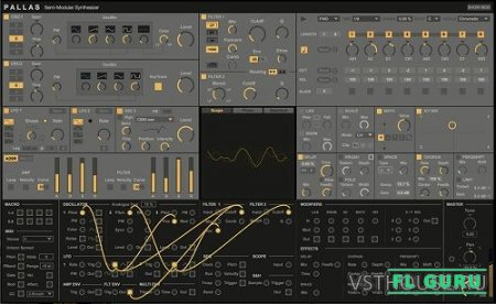Max for Cats - Pallas v1.0 for Ableton Live - синтезатор