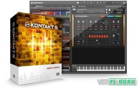 Native Instruments - Kontakt 5.6.8 PORTABLE STANDALONE, VSTi x86 x64 (UPDATE) [11.05.2017] - сэмплер, обновление для kontakt