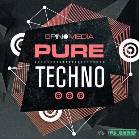 5Pin Media - Pure Techno (AIFF, MIDI, REX2, WAV) - сэмплы techno
