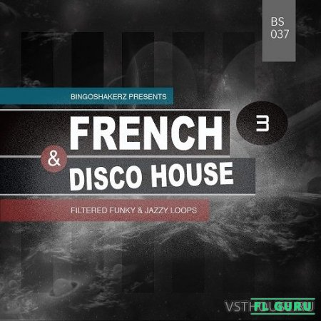 Bingoshakerz - FRENCH & DISCO HOUSE 3 (WAV) - сэмплы disco house