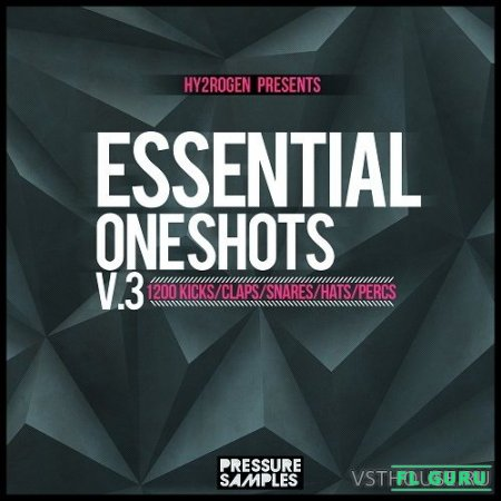 HY2ROGEN - Essential One Shots Vol.3 (WAV, EXS24, KONTAKT, NNXT, HALION) - сэмплы ударных